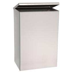Odpadkový koš 6 l - závěsný, lesk, 305x205x105 mm
