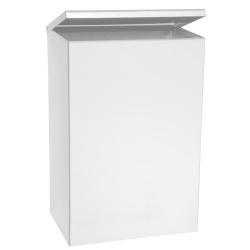 Odpadkový koš 6 l - závěsný, bílý