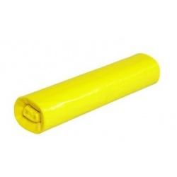Sáčky do koše 50 x 60 cm (30 l), zatahovací, žluté