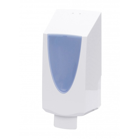 Dávkovač tekutého mýdla, bílý, plast